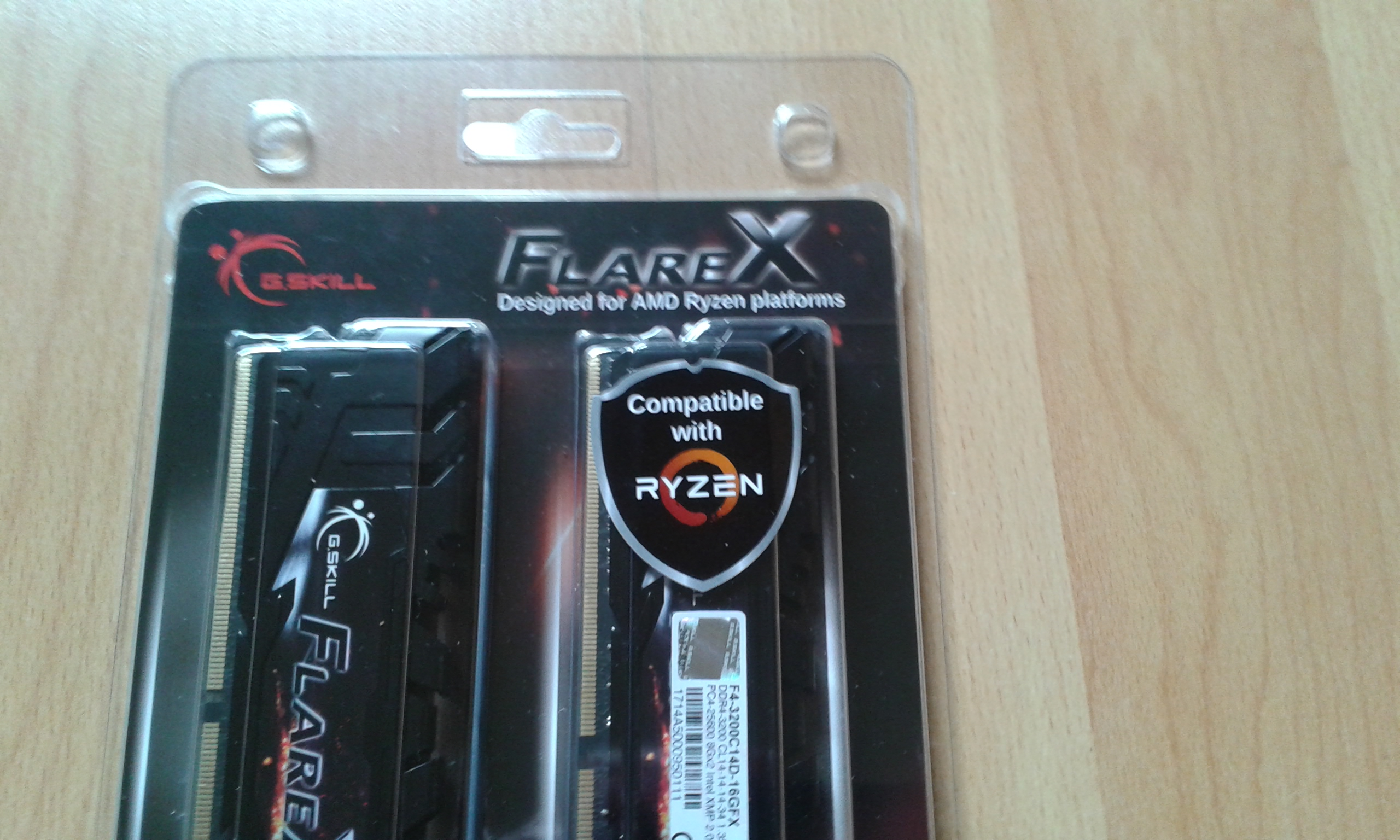 G Skill FlareX DDR4-3200 C14-14-14-34 1,35v Review -