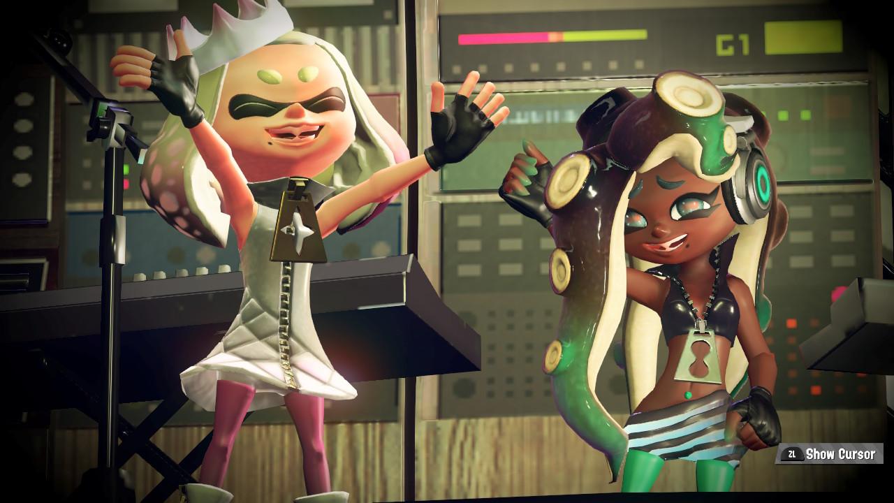 Splatoon 2 Introduces Pearl And Marina, Icecream Vs