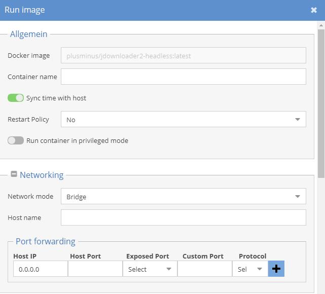 Jdownloader - Plugins - openmediavault