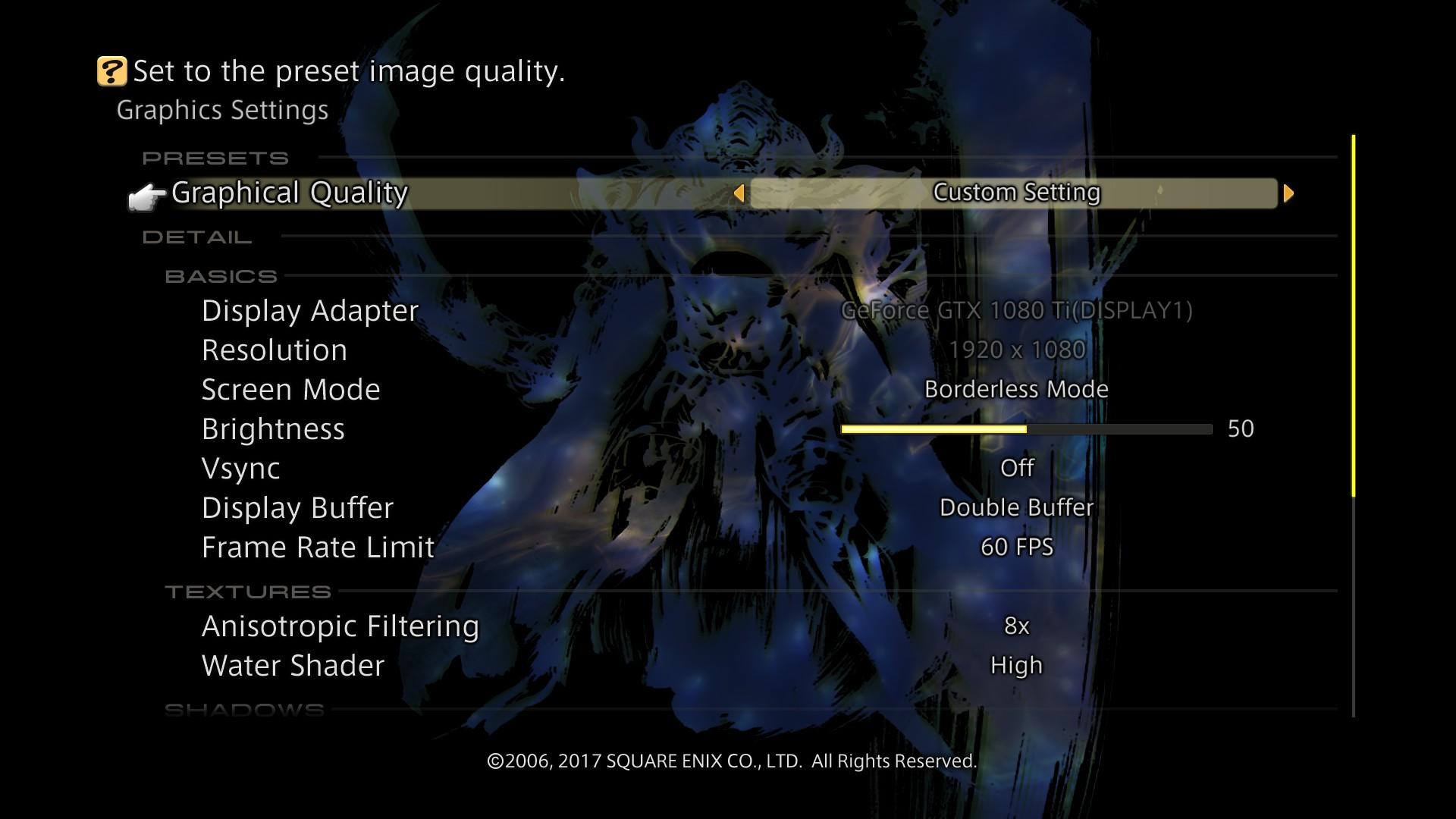 Final Fantasy XII: The Zodiac Age PC performance thread