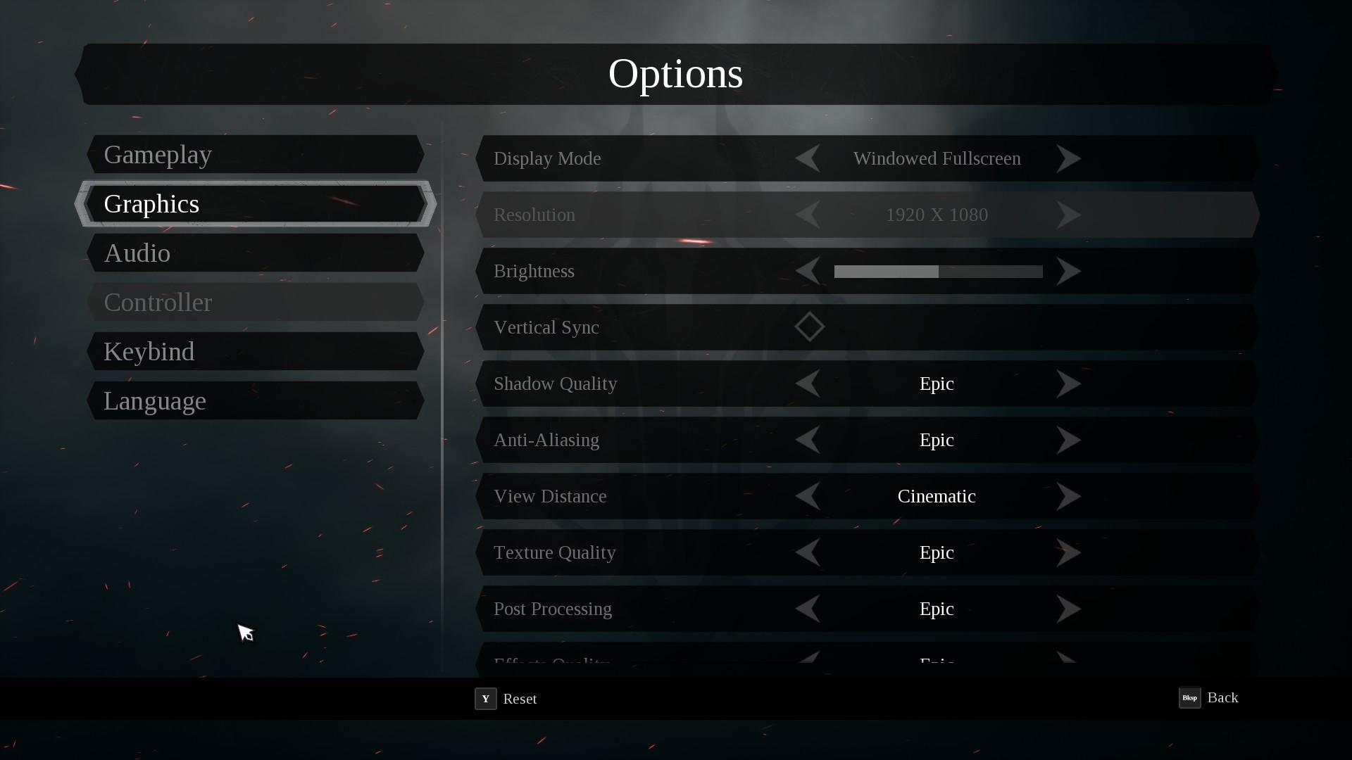 Darksiders III PC performance thread | ResetEra