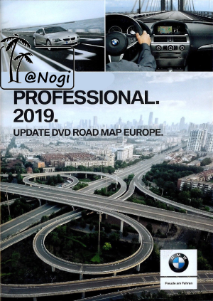 BMW Navigation DVD Road Map Europe PROFESSIONAL 2019