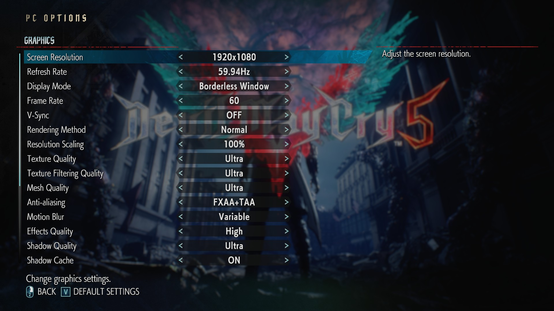 Devil May Cry 5 PC performance thread | ResetEra