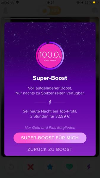 Tinder Super Boost - Online Game - Pick Up Forum - The
