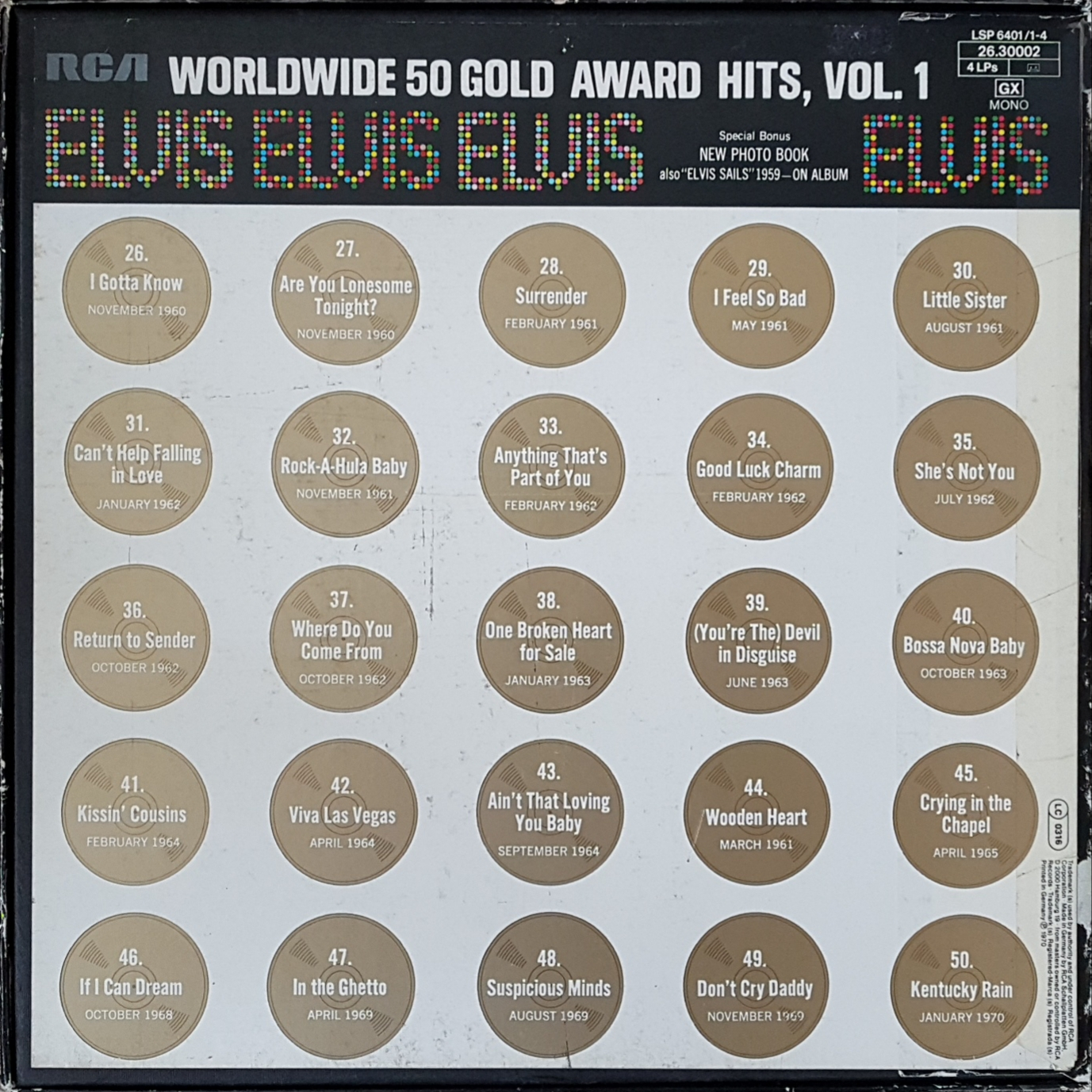 WORLDWIDE 50 GOLD AWARD HITS, VOL.1 20190717_164116rfjvh
