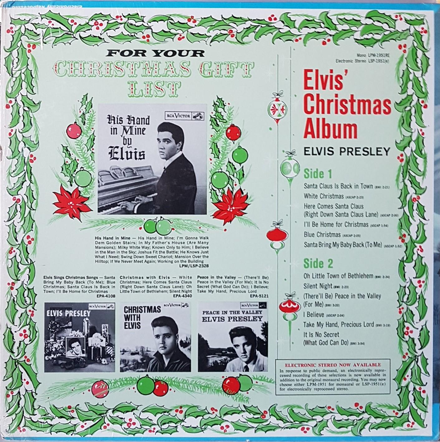 ELVIS' CHRISTMAS ALBUM 20200324_175101q0jec