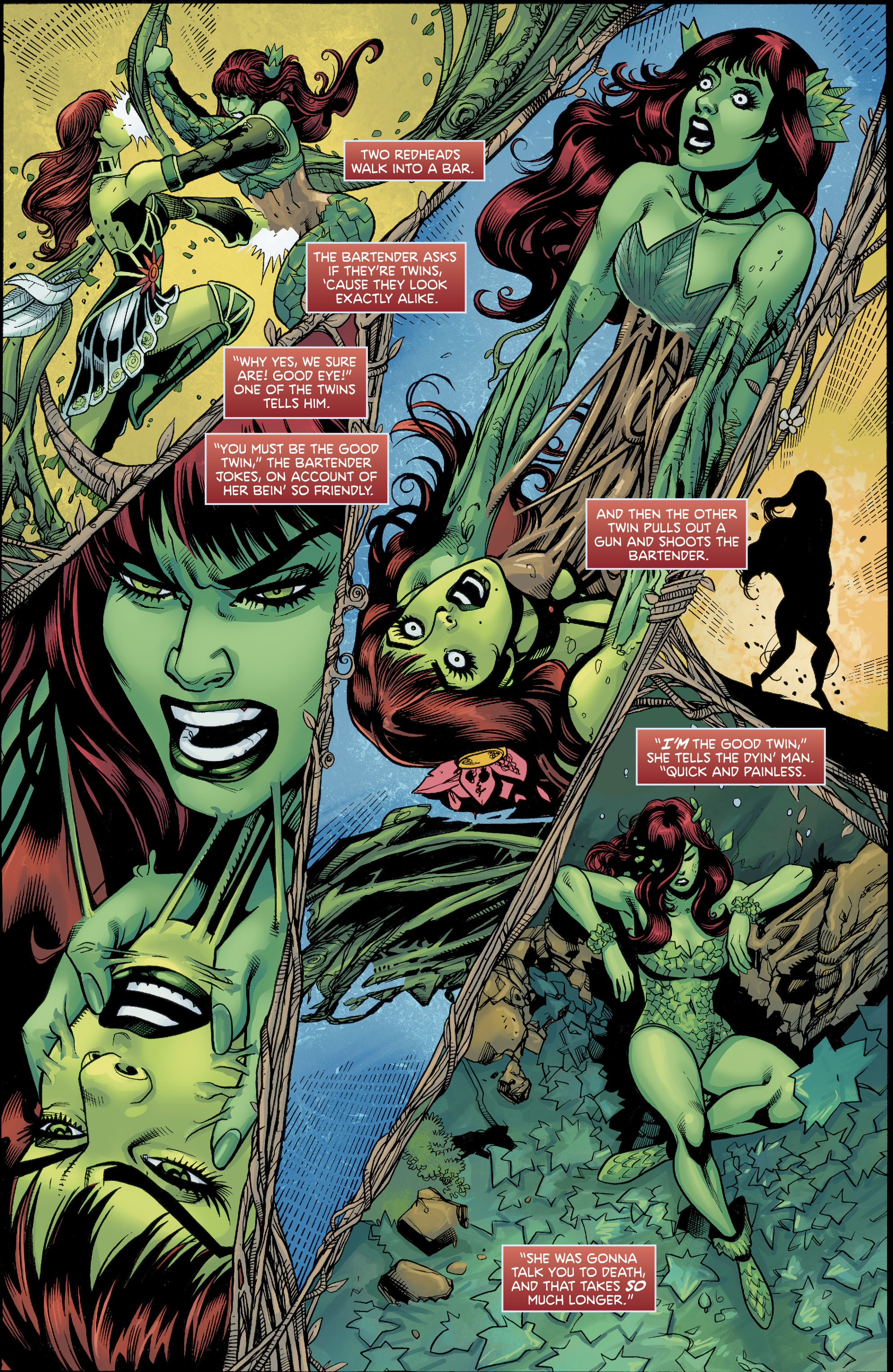Harley Quinn Poison Ivy 6 Scans Daily