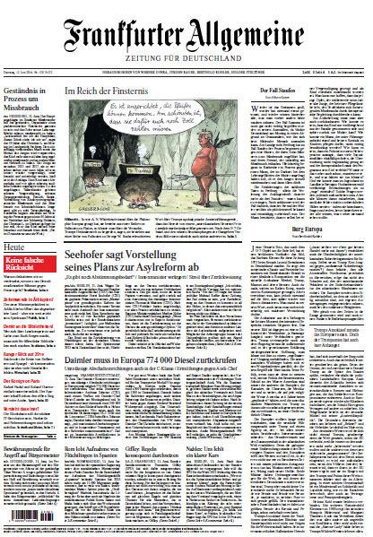 Frankfurter Allgemeine 12 Juni 2018