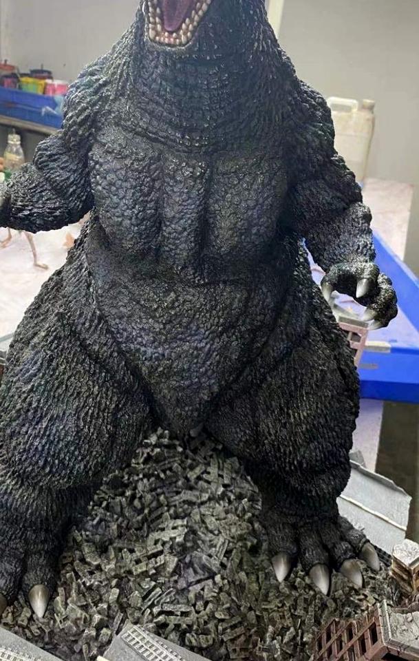 Premium Collectibles : New License Godzilla 217773394_2913953578880kbe