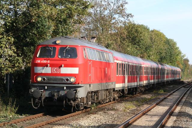 218 450-5 Einfahrt Otterndorf