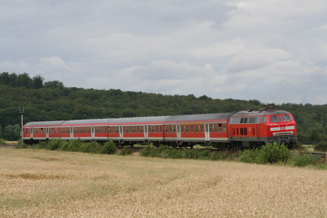 218 451-3 bei Ilsenburg