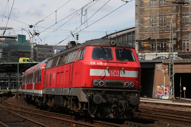 218 456-2 Hamburg-Münzstraße