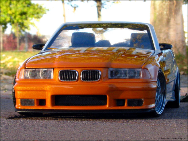 1 18 tuning bmw e36 m3 convertible special paint with. Black Bedroom Furniture Sets. Home Design Ideas