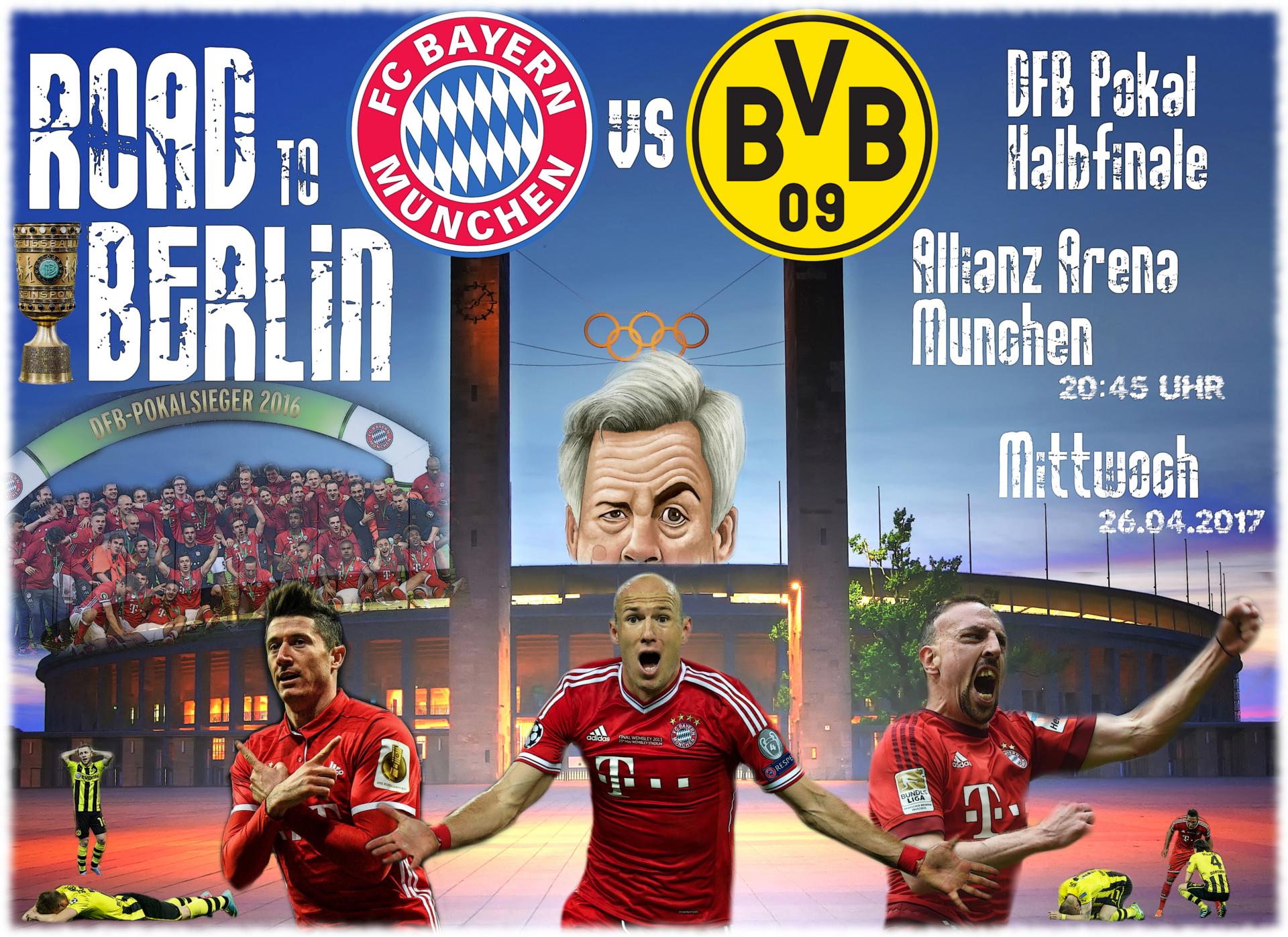 Halbfinale Bayern Dortmund