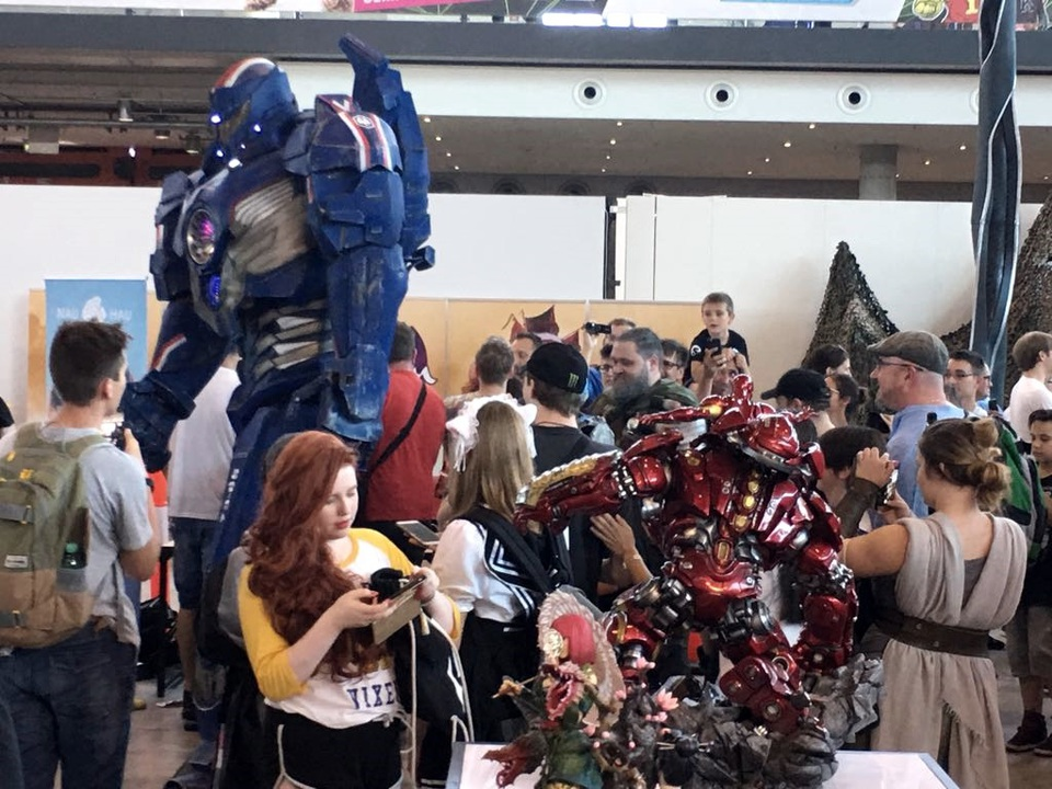 XM Studios: Comic Con Germany Stuttgart 2018  22nls5v
