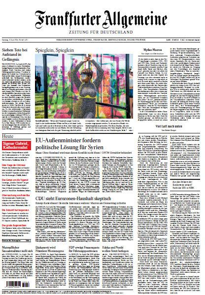 Frankfurter Allgemeine 17 April 2018