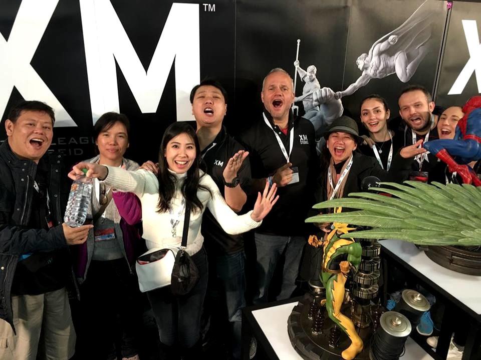 XM Studios: Italy Lucca Comics & Games 2017 - November 01-05 23172530_169116974426dyuga