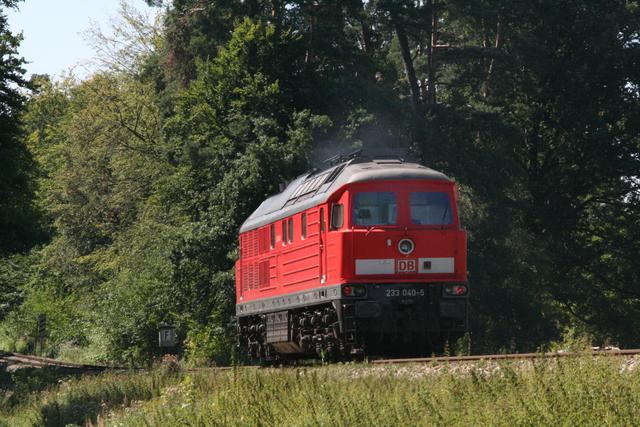 233 040-5 Solo bei Kastl(Oberbay)