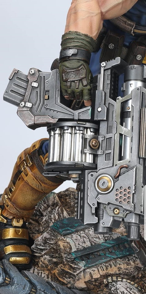 Premium Collectibles : Cable with Hope 1/4 Statue 234798110_29263180875tykul