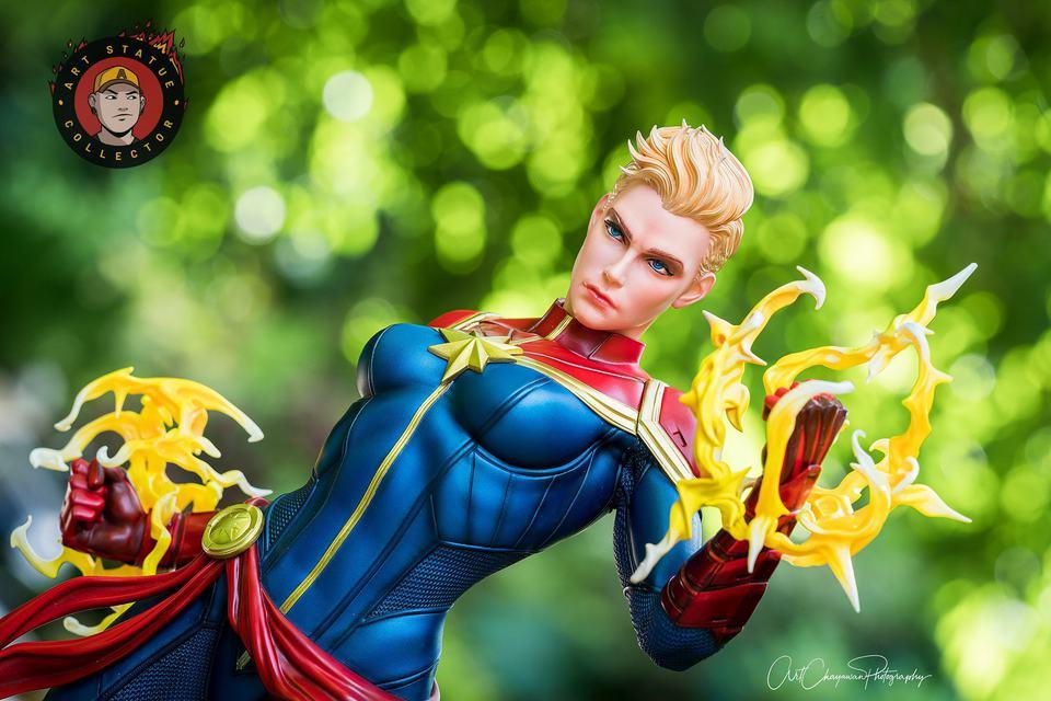 Premium Collectibles : Captain Marvel 1/4 Statue 239459005_136256115367tjij