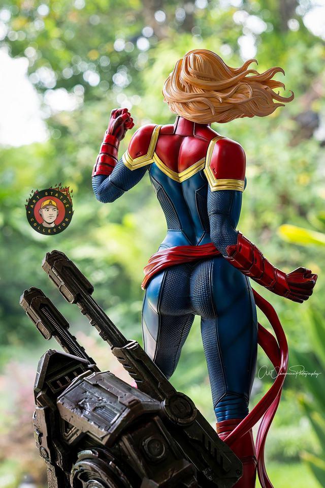 Premium Collectibles : Captain Marvel 1/4 Statue 239586367_13625646870ykkzk
