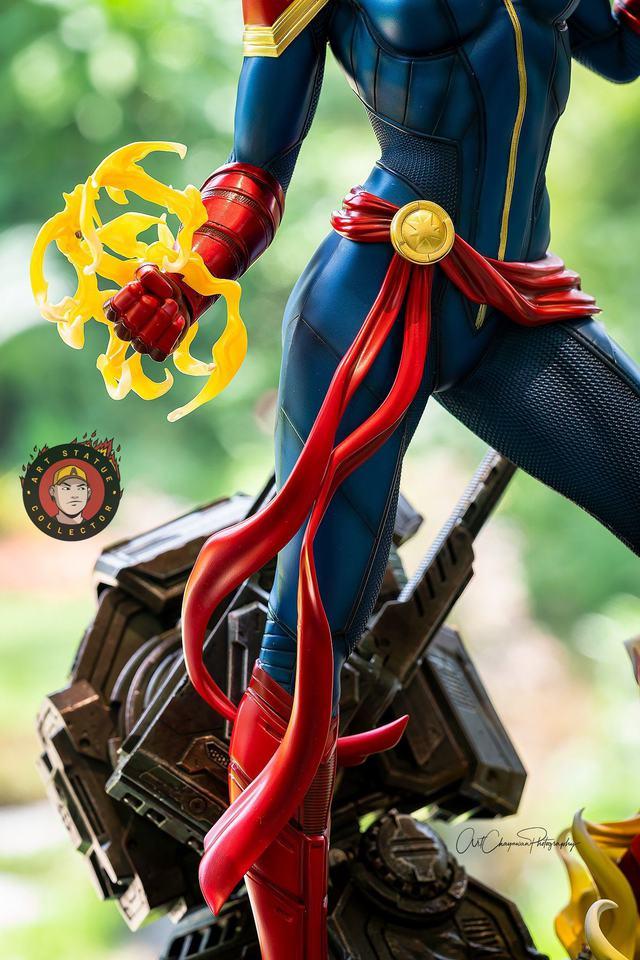 Premium Collectibles : Captain Marvel 1/4 Statue 239657086_136256082038ukum