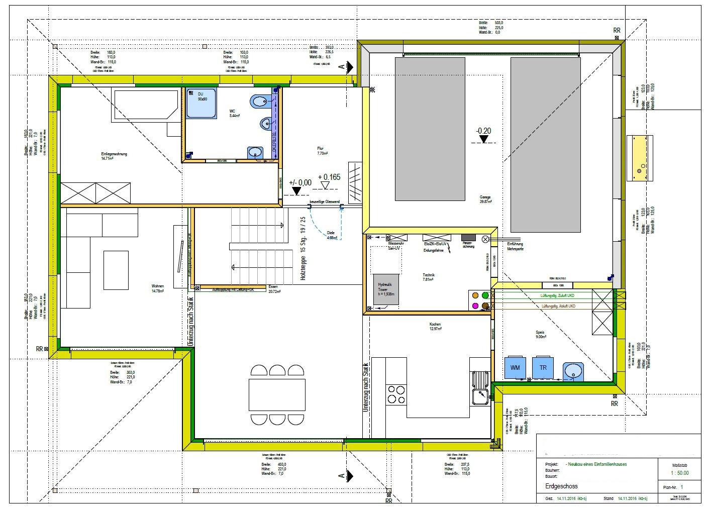Neubau EFH (KFW 40): Bitte um Beratung zu LWP + WW + KWL ...