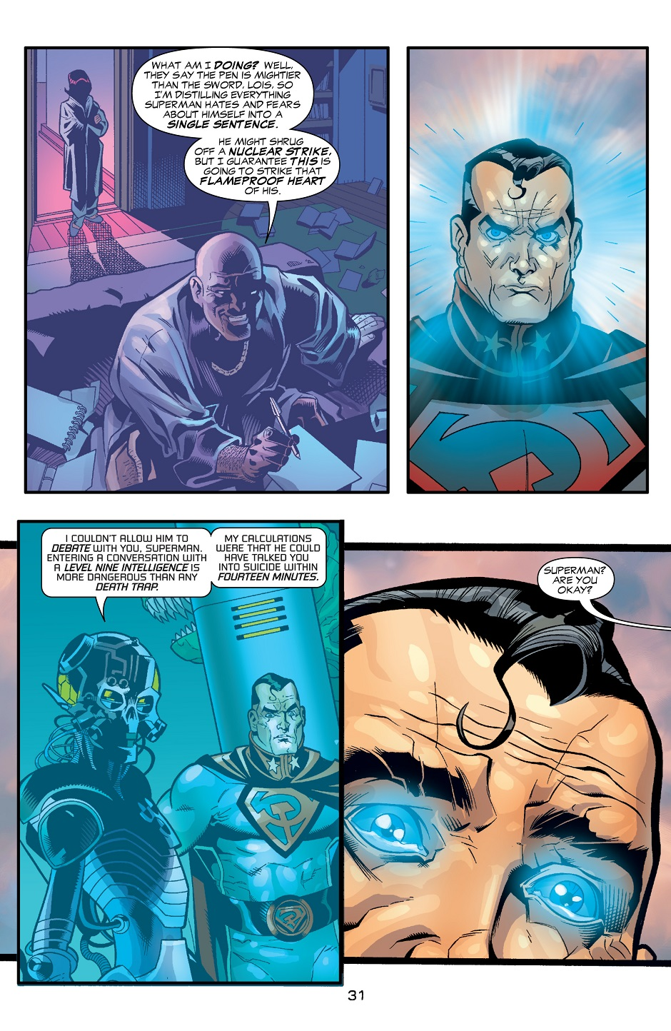Scans Daily Superman Red Son 3