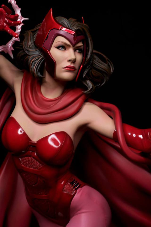 Premium Collectibles : Scarlet Witch** 23qxkni