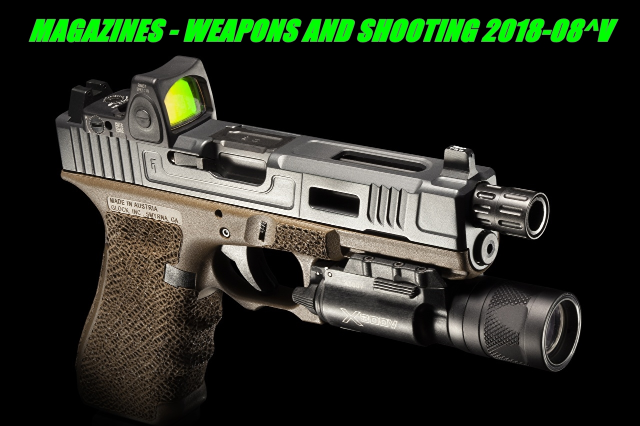 Magazines - weapons and shooting 2018-08