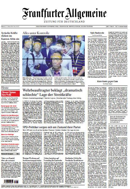 Frankfurter Allgemeine 21 Februar 2018