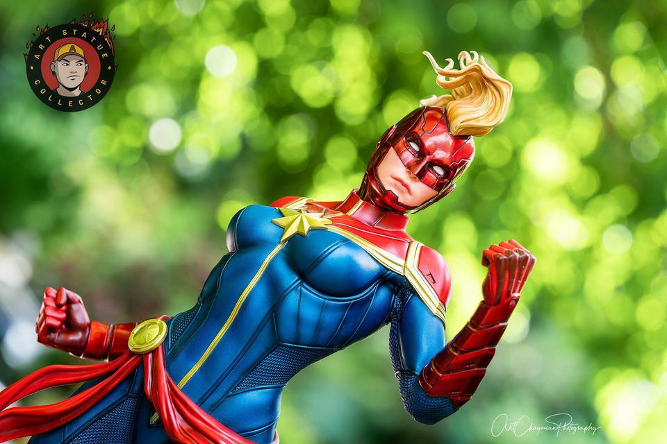 Premium Collectibles : Captain Marvel 1/4 Statue 240158469_13625614870xzj4f