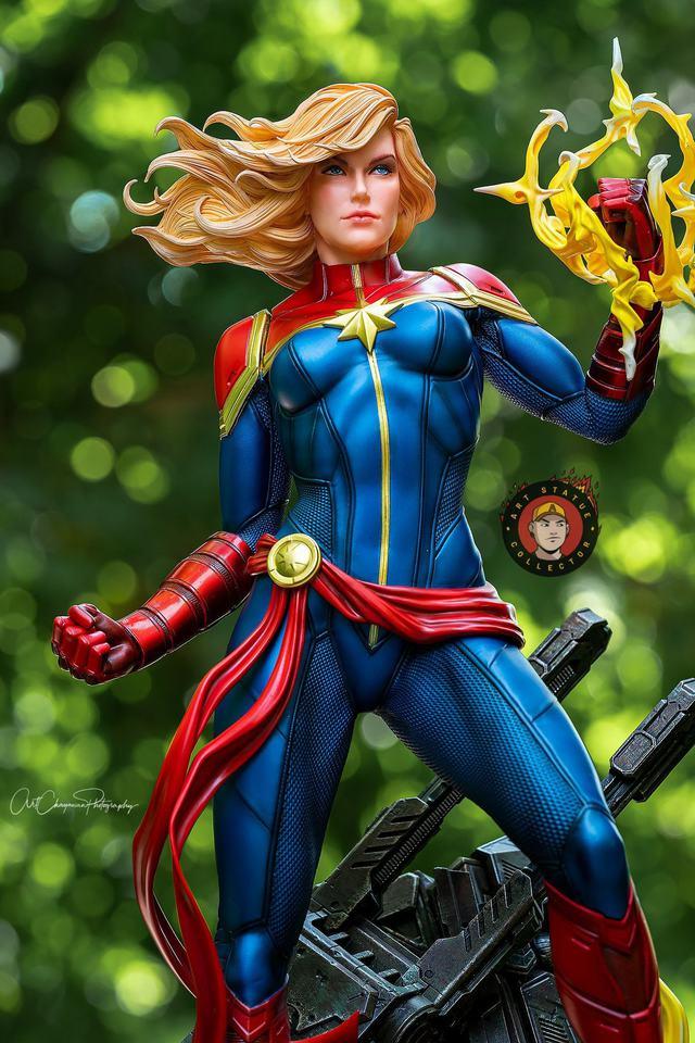 Premium Collectibles : Captain Marvel 1/4 Statue 240396367_136255898704vk04