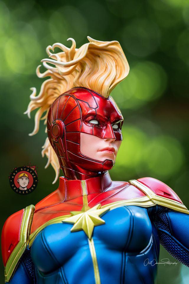 Premium Collectibles : Captain Marvel 1/4 Statue 240397805_13625630870eijyq