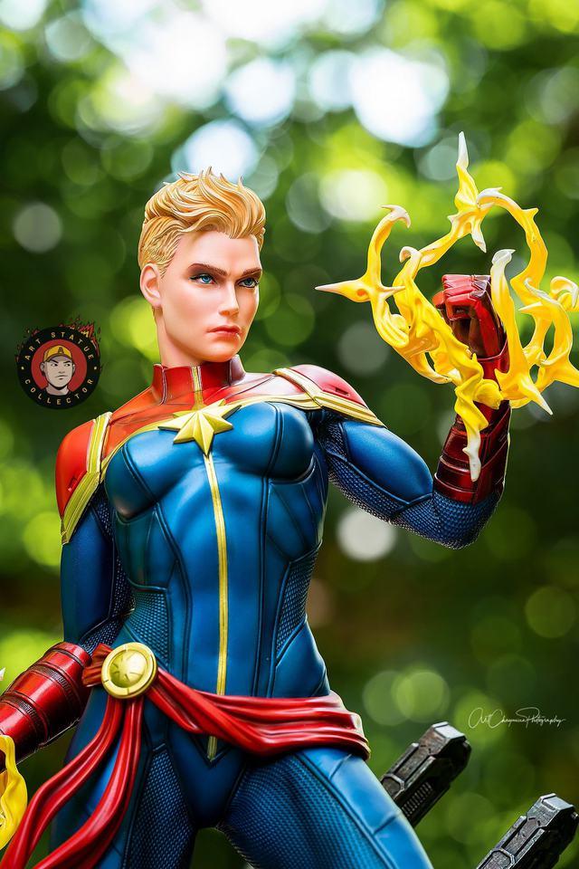 Premium Collectibles : Captain Marvel 1/4 Statue 240524518_13625623536nmk37