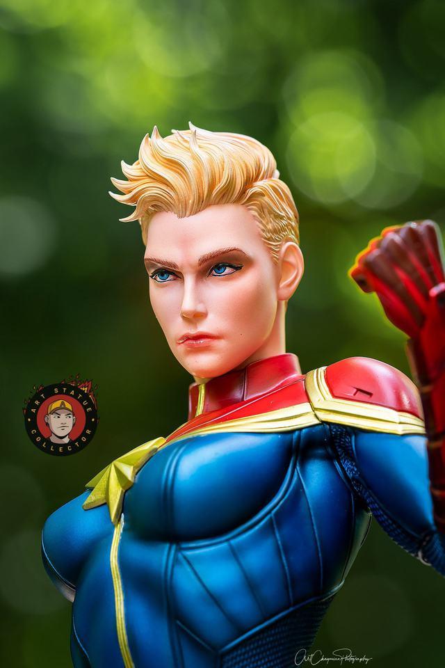 Premium Collectibles : Captain Marvel 1/4 Statue 240527914_13625638870l6jf6