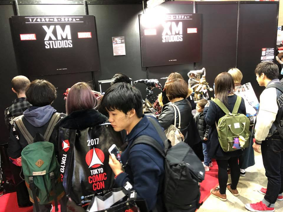 XM Studios: Coverage Tokyo Comic Con 2017 - Dec 1st-3rd 24068087_152364865438r6kg5