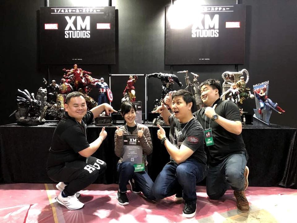 XM Studios: Coverage Tokyo Comic Con 2017 - Dec 1st-3rd 24131489_2055915454693euj7
