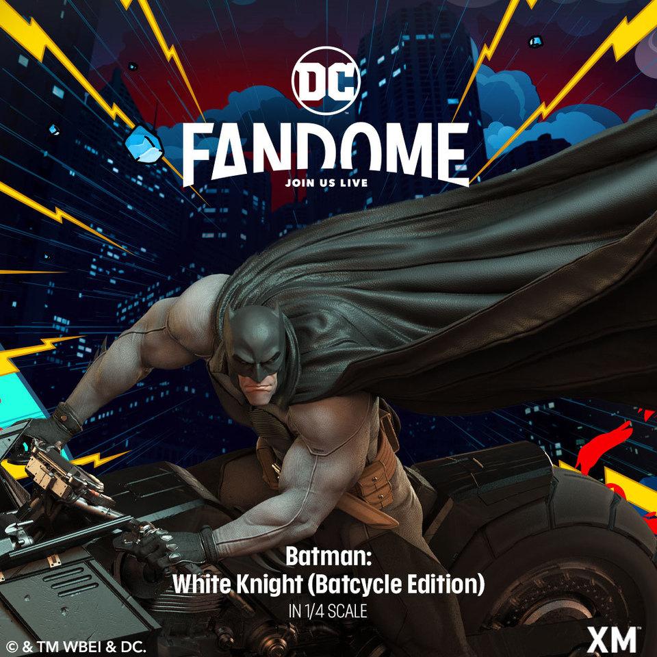 Premium Collectibles : Batman White Knight on Bike1/4 Statue 244105696_29908302411vzkkt