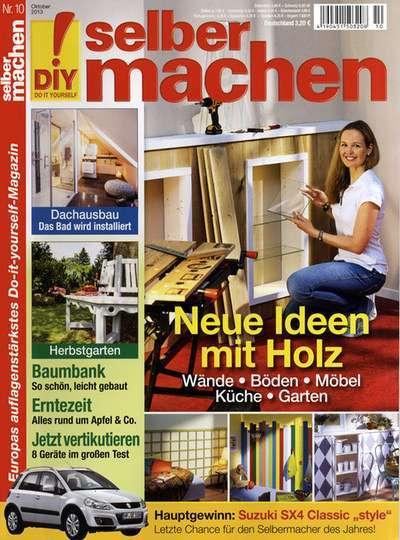 gewinn jahresabo selber machen heimwerker zeitschrift 13 monate mit 16 gewinn. Black Bedroom Furniture Sets. Home Design Ideas