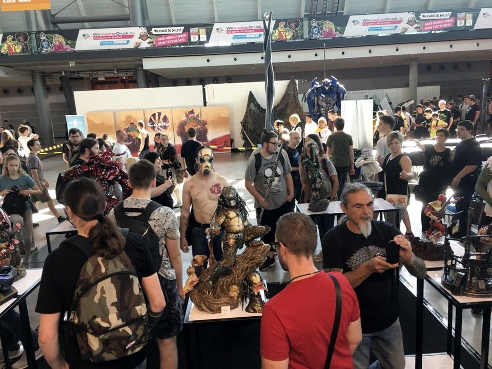XM Studios: Comic Con Germany Stuttgart 2018  24ucsl3
