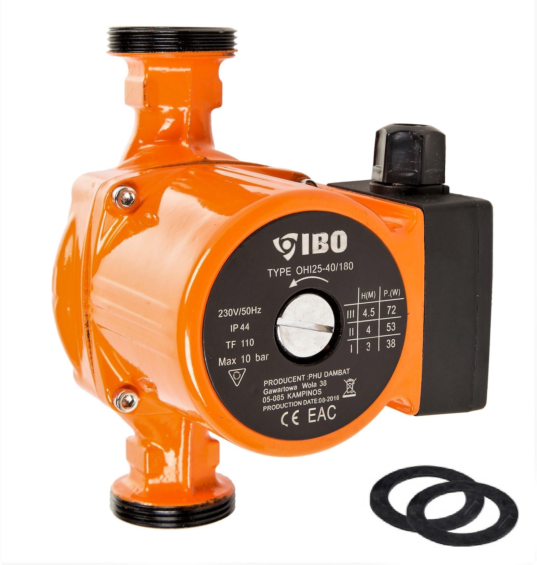 Nassl/äufer Umw/älzpumpe Heizungspumpe PLUS 25-60//180 Pumpe Warmwasser Heizung
