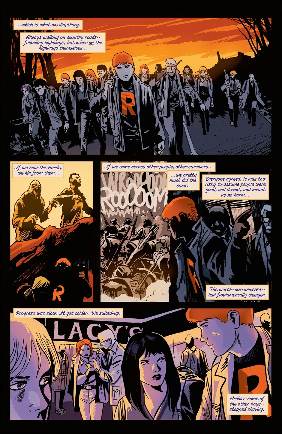 Details about  /Afterlife with Archie #7 Francavilla Cover Archie Comics NM