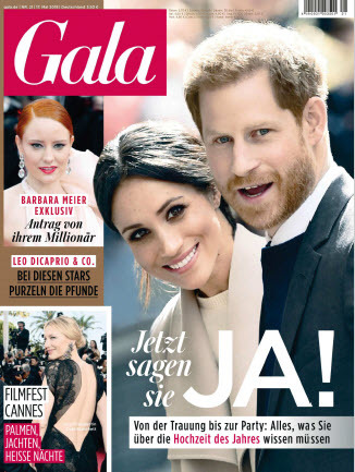 :  Gala Magazin No 21 vom 17 Mai 2018