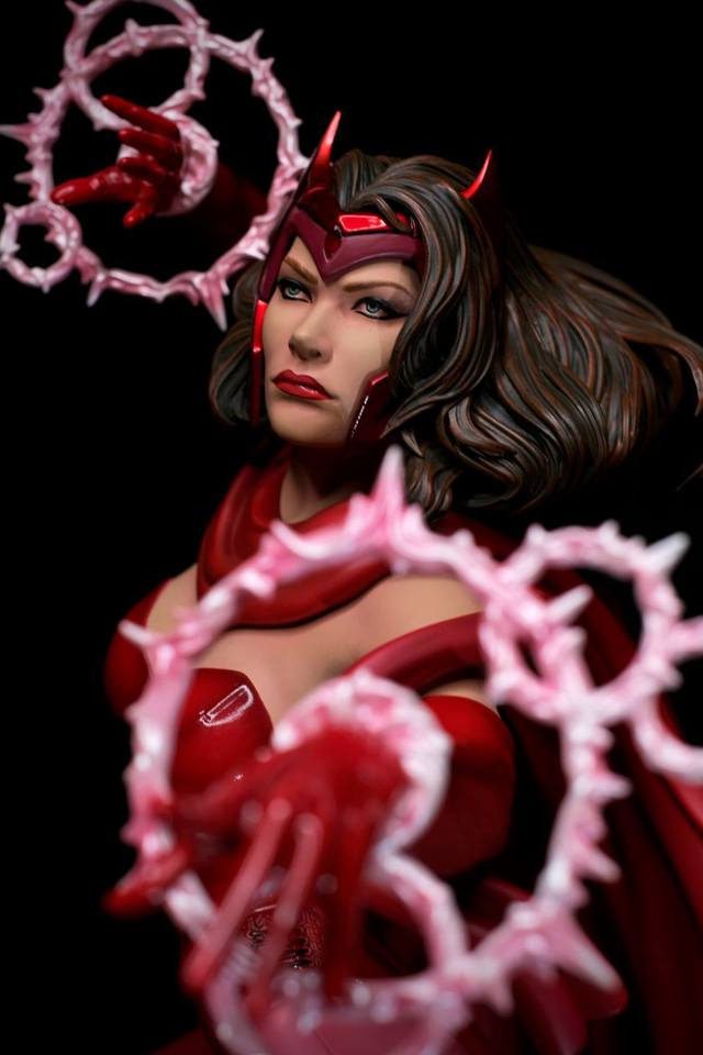 Premium Collectibles : Scarlet Witch** 25rpkxw