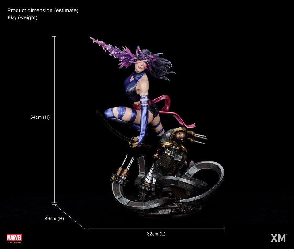 Premium Collectibles : Psylocke 1/4 Statue 260ckua