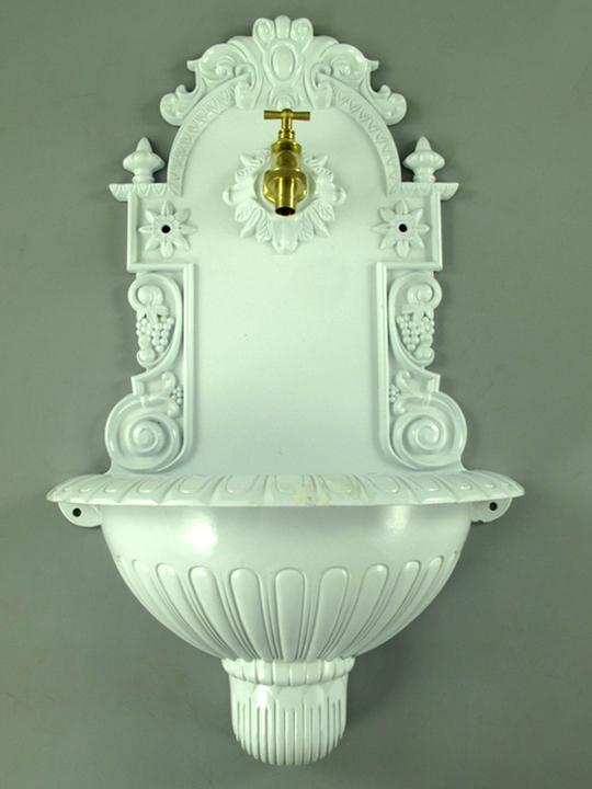 wandbrunnen 61cm gartenbrunnen ausgu becken. Black Bedroom Furniture Sets. Home Design Ideas