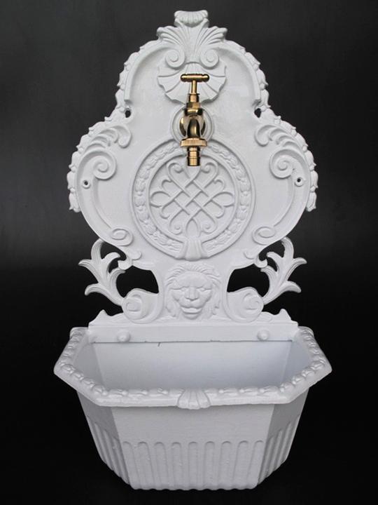 wall fountain 59cm garden fountain sink outdoor sink. Black Bedroom Furniture Sets. Home Design Ideas