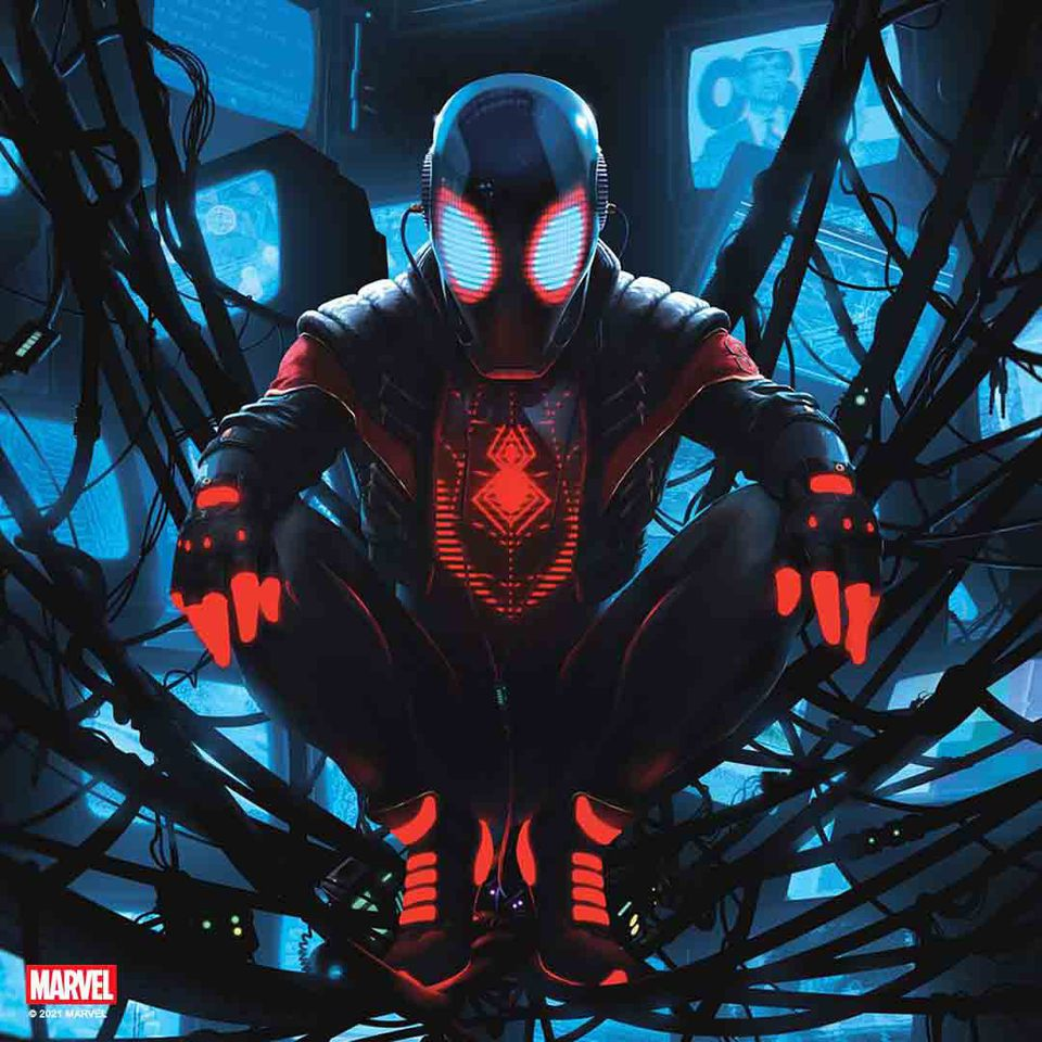 Premium Collectibles : Miles Morales 1/4 Statue 26ndkab