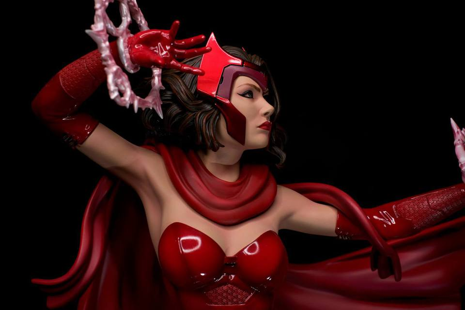 Premium Collectibles : Scarlet Witch** 27e3jo7
